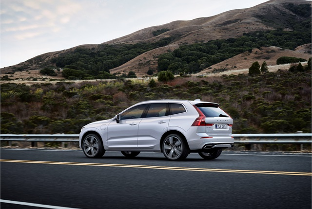 The 2017 Volvo XC60 SUV includes an updated City Safety AEB system. Photo courtesy of Volvo.