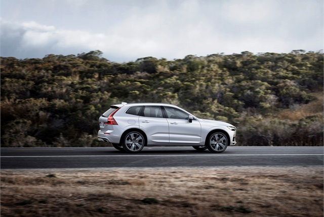 Photo of Volvo XC60 courtesy of Volvo.