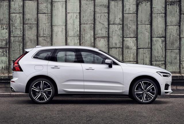 Photo of 2018 XC60 courtesy of Volvo.