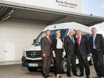 Sprinter Van Delivered to Vending Company