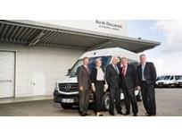 Sprinter Van Delivered to Vending Company