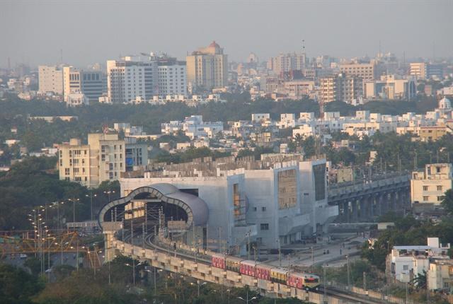 Photo of Chennai skyline courtesy of nashcode.