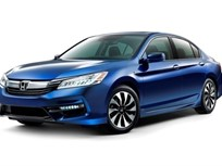 Honda's 2017 Accord Hybrid Reaches 49 MPG City