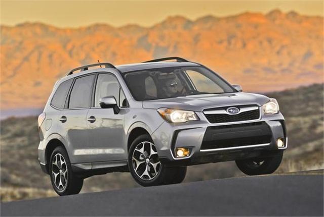 Photo of Subaru Forester 2.0XT courtesy of Subaru.