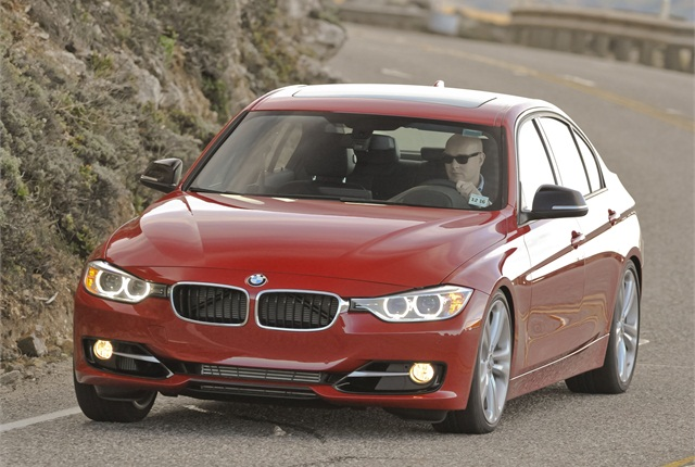 2012 BMW 3 Series sedan photo courtesy of BMW.