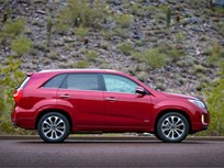 Redesigned Kia Sorento Draws 5-Star Safety Rating from NHTSA