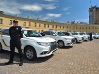 Mitsubishi Delivers 635 Outlanders to Ukranian Police