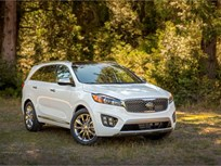 2016 Kia Sorento Draws Top Safety Rating