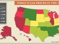 Gas Prices Down Close to 30 Cents Per Gallon Compared to Spring 2012