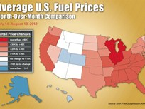 Gas Prices Move Upward Nationally But See Major Regional Differences