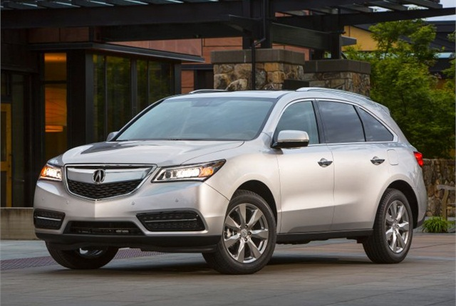 Photo of 2014 MDX SUV courtesy of Acura.