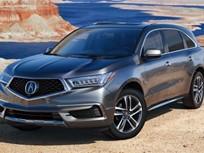 Acura's 2017 MDX Hybrid Starts at $52,935
