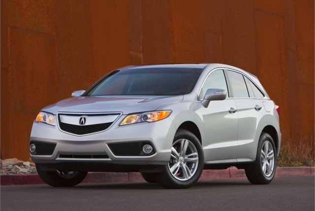 Photo of 2015 RDX courtesy of Acura.
