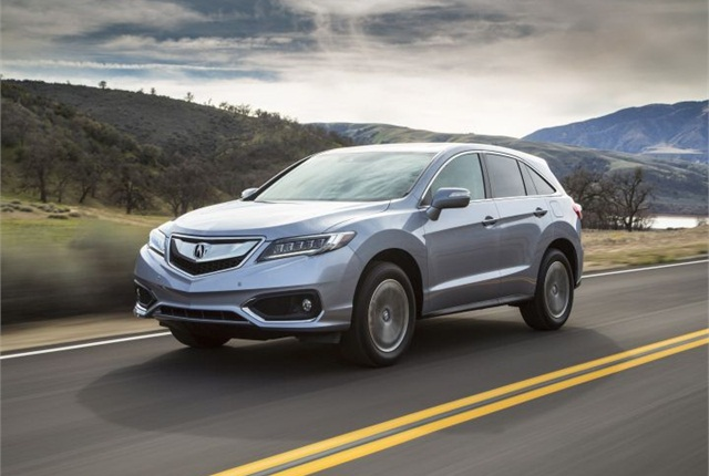 Photo of 2016 RDX courtesy of Acura.