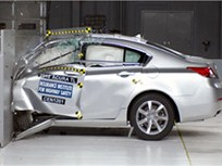 Acura TL, Volvo S60 Draw Top Ratings in New IIHS Frontal Crash Test