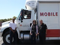 Food Bank Unveils Mobile Pantry Truck