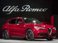 Base 2018 Alfa Romeo Stelvio SUVs to Debut in N.Y.