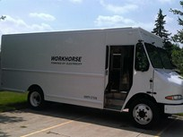 Logistics Fleet Adds AMP Electric Vans in Texas