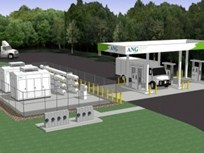 American Natural Gas Reveals New York CNG Station