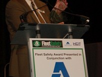 First-Ever Fleet Safety Lifetime Achievement Award Given
