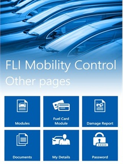 Fleet Logistics Mobility Control App tells users information from alerts to mileage. Photo: Fleet Logistics