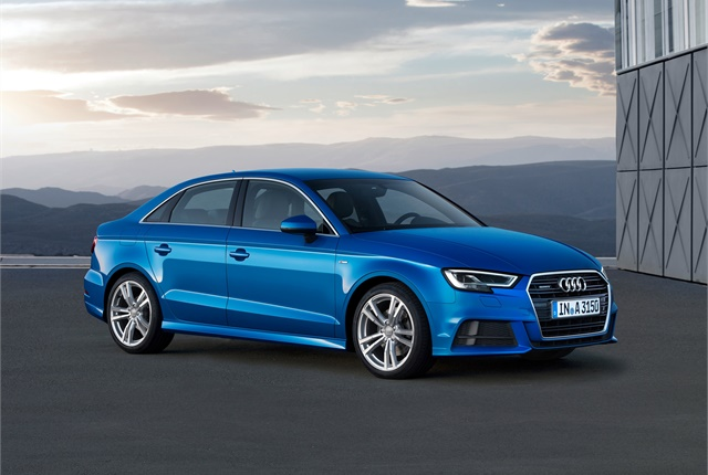 Photo of Euro-spec A3 courtesy of Audi.