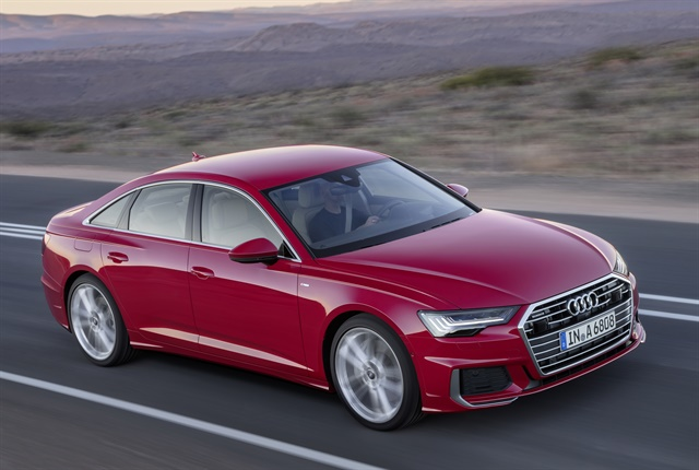 Photo of the 2019 A6 courtesy of Audi.