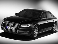 Audi Enhances Armored A8 L Security Sedan