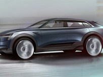 Audi Shows Sporty SUV EV Concept