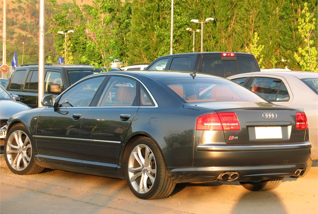 Photo of Audi S8 courtesy of order_242 via Wikimedia Commons/Flickr2Commons.