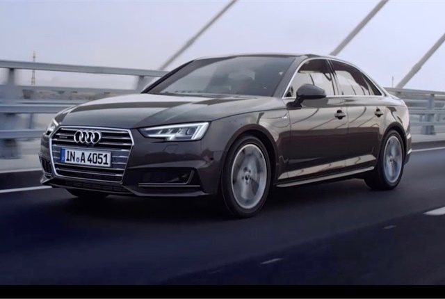 Photo of Audi A4 Sedan courtesy of Audi.
