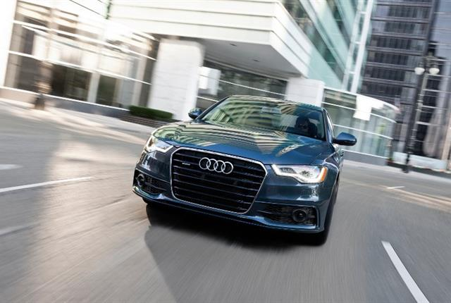 Photo of Audi A6 courtesy of Audi.