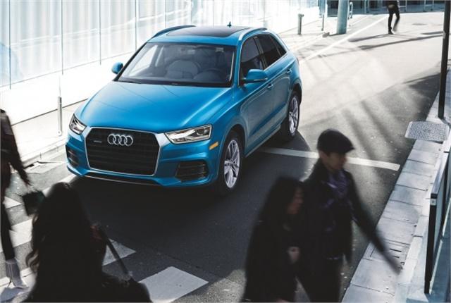 Photo of Audi Q3 courtesy of Audi.
