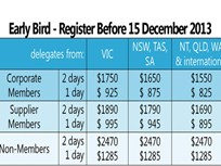 AfMA Announces Early Bird Conference Registration