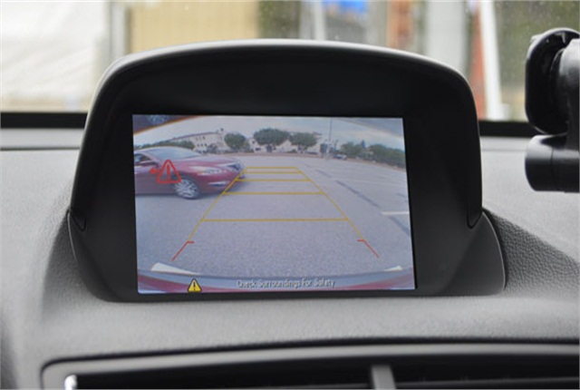 Advanced safety features, including parking assist technology, can help older drivers to continue driving safely for more years. Photo courtesy of AAA.