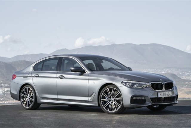 Photo of 2017 540i courtesy of BMW.