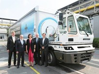 BMW Employs Fully Electric 40-Ton Truck