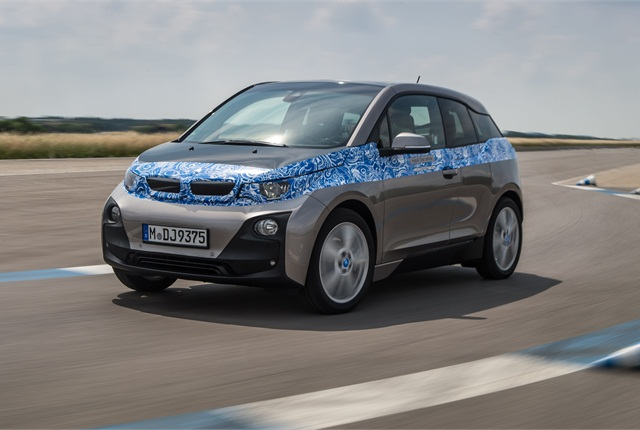 The 2014 BMW i3. Photo courtesy BMW.