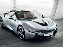 BMW i8 Spyder Concept Features EV Technology Planned for Future i Brand Vehicles