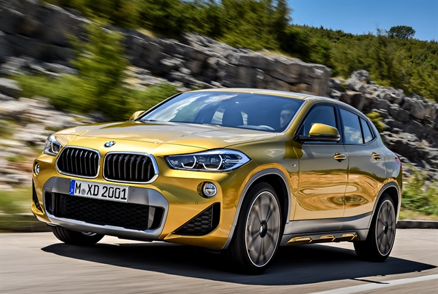 Photo of 2019 X2 courtesy of BMW.