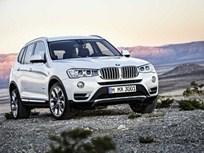 BMW Adds Diesel Engine to 2015 X3 SUV