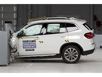 2018 BMW X3 Qualifies for Top Safety Pick+