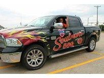 Truck Graphics Put Sizzle in Barbecue Business Fleet