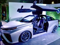 Toyota Shows 'Back to the Future'-Inspired Mirai