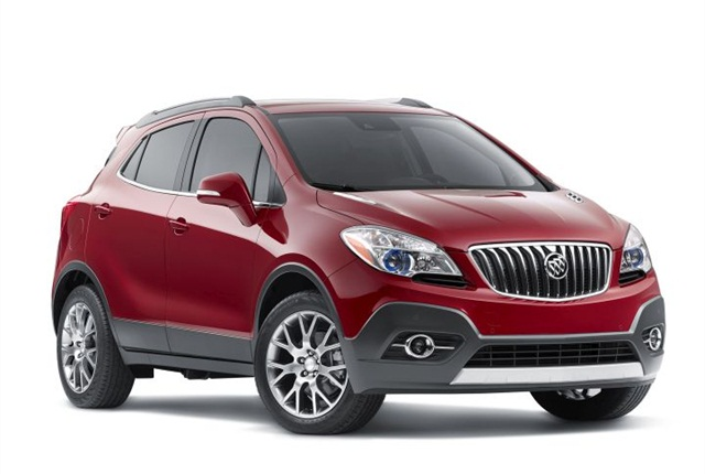 Photo of Buick Encore Sport Touring courtesy of GM.