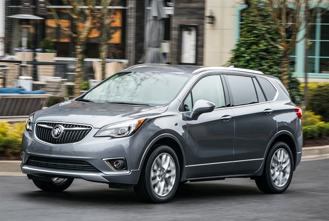 Photo of 2019 Buick Envision courtesy of GM.