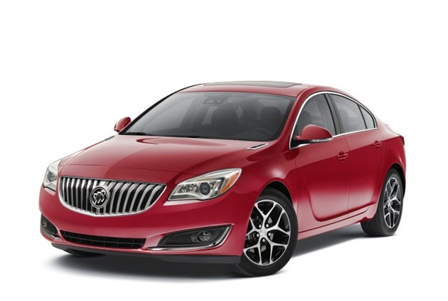 Photo of 2016 Buick Regal Sport Touring courtesy of GM.