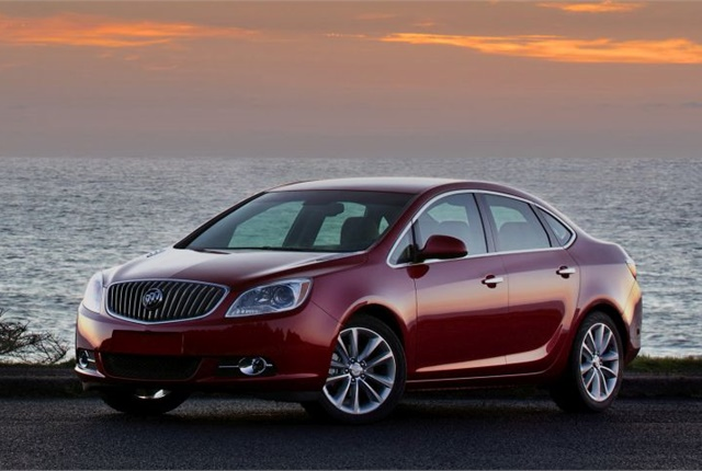 Photo of 2016 Buick Verano courtesy of GM.