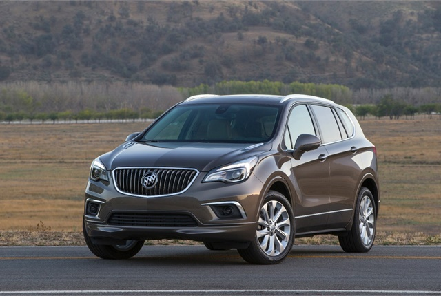 Photo of Buick Envision courtesy of GM.