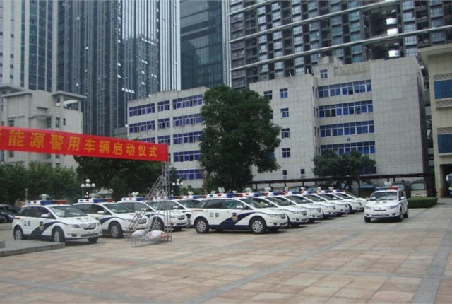 BYD recently won a contract to provide 500 of its e6 pure electric police vehicles to the Shenzhen Municipal Public Security Bureau.
